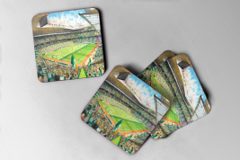 celtic park Coaster set of four